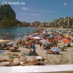 Кальпе, пляж La Fossa
