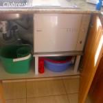 На кухне есть посудомоечная машина