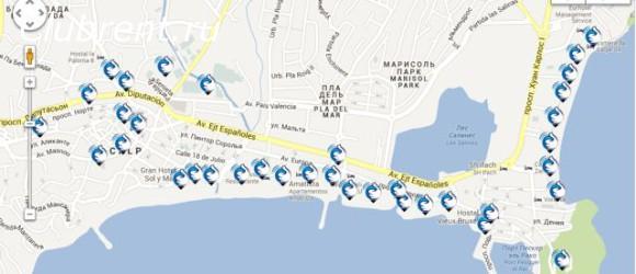 бесплатный wifi в Кальпе, Испания