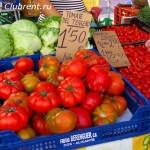 субботний рынок в Кальпе, помидоры
