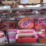 рыбный отдел на рынке