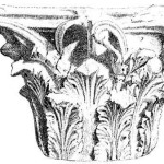 капитель коринфской колонны (акант)