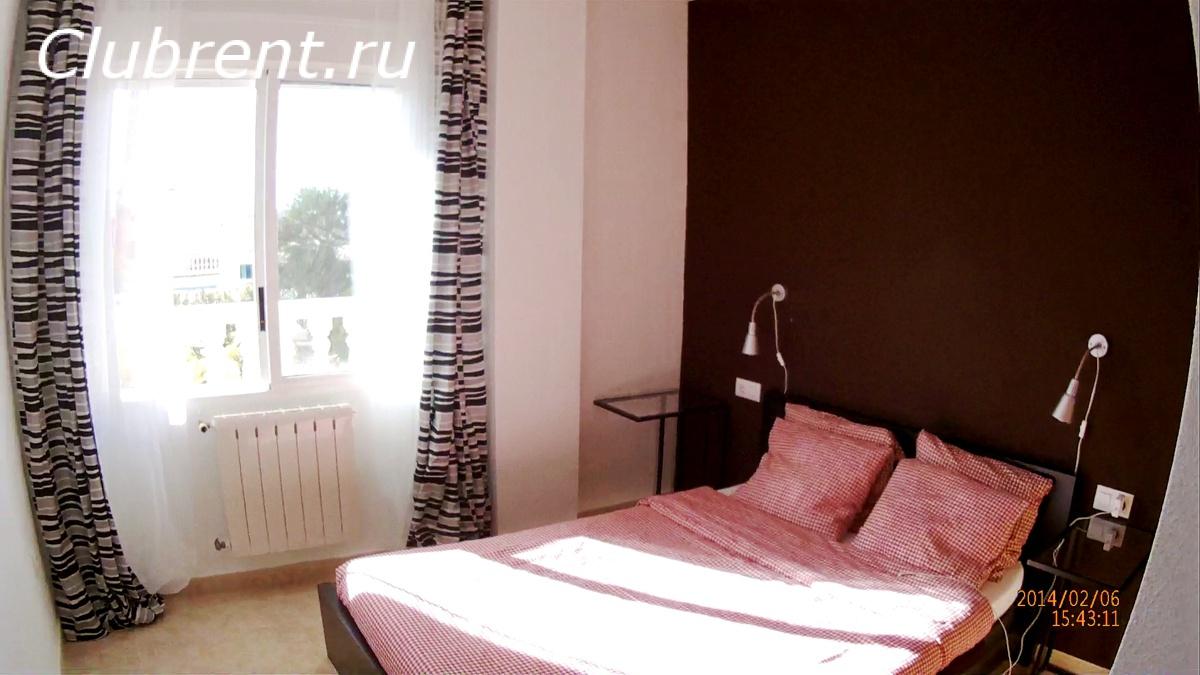 апартаменты в Испании, спальня