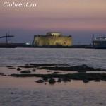 Древняя крепость в Пафосе