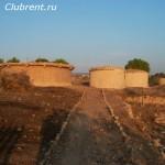 Неолитические жилища островитян
