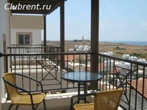 Вид с балкона. Пафос, Кипр, отзывы гостей об отдыхе