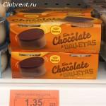 шоколадный десерт с галетой